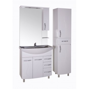 """Комплект мебели для ванной комнаты """"ASB-мебель"""" напольный """"ГРЕТА 80"""""""