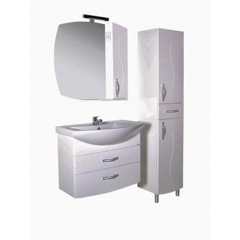 """Комплект мебели для ванной комнаты """"ASB-мебель"""" подвесной """"ГРЕТА 80"""""""