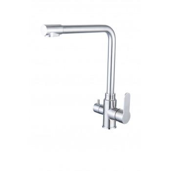 Смеситель для мойки с каналом для фильтрованной воды (сатин) D34444130S