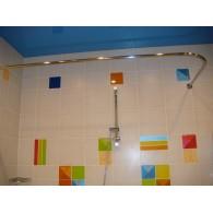 Карниз для ванны Г-образный Excellent