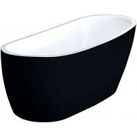 Ванна акриловая Comfort Black 175х75 Excellent