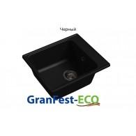 Мойка кухонная GranFest -ECO , ECO-17 (черная)