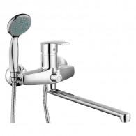 Смеситель для ванны и душа с длинным изливом 350 мм. Gross Aqua 7517514С-35L(F) NORD