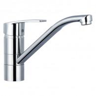 Смеситель для кухни с поворотным изливом Gross Aqua 3509514С-G0147 NORD
