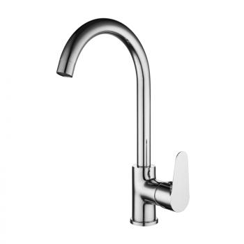 Смеситель для кухни с поворотным изливом Gross Aqua 3118288С-В02 Space