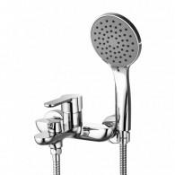 Смеситель для ванны и душа с коротким изливом GROSS AQUA 2515298C Loft