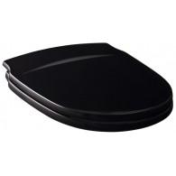 Крышка-сиденье Gustavsberg Nordic черная, с микролифтом