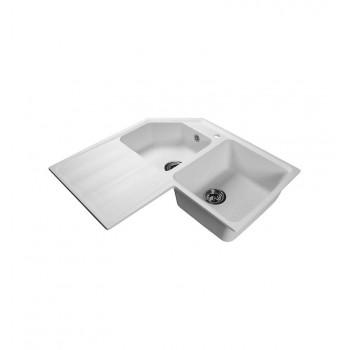 Кухонная мойка LEX MORENO 830 WHITE