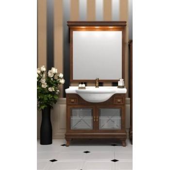 Комплект мебели для ванной комнаты БОРДЖИ 95 (массив бука) светлый орех