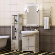 Комплект мебели для ванной комнаты КЛИО 65 (белый) Opadiris