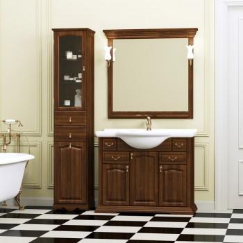 Комплект мебели для ванной комнаты РИСПЕКТО 105 Opadiris (орех антикварный)
