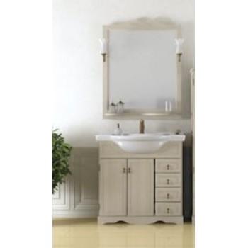 Комплект мебели для ванной комнаты КЛИО 70 Opadiris (белый)