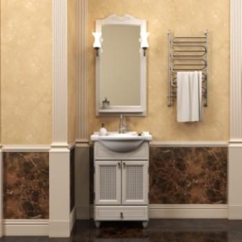 Комплект мебели для ванной комнаты ТИБЕТ 50 Opadiris (слоновая кость) решетка