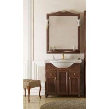 Комплект мебели для ванной комнаты ТИБЕТ 70 Opadiris (орех антикварный) решетка
