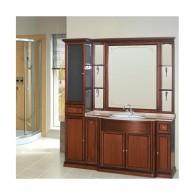 Комплект мебели для ванной комнаты КОРСО ОРО № 6 (орех антикварный) Opadiris