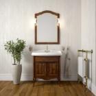 Комплект мебели для ванной комнаты ЛОРЕНЦО 80 (светлый орех) Opadiris
