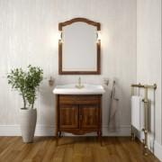 Комплект мебели для ванной комнаты ЛОРЕНЦО 100 (светлый орех) Opadiris