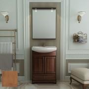 Комплект мебели для ванной комнаты КАРЛА 65 (итальянский орех, нагал) Opadiris