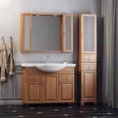Комплект мебели для ванной комнаты ГРЕДОС 95 (итальянский орех, нагал) Opadiris
