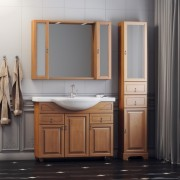 Комплект мебели для ванной комнаты ГРЕДОС 105 (нагал) Opadiris