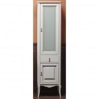 Пенал для ванной комнаты ЛОРЕНЦО 45 белый L/R Opadiris