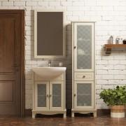 Комплект мебели для ванной комнаты ОМЕГА 55 (слоновая кость) Opadiris