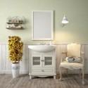 Комплект мебели для ванной комнаты ОМЕГА 75 (слоновая кость) Opadiris