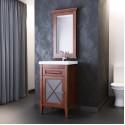 Комплект мебели для ванной комнаты Палермо 50 (светлый орех) Opadiris