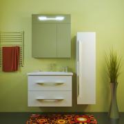 Комплект мебели для ванной комнаты ОКТАВА 80 Opadiris