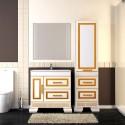 Комплект мебели для ванной комнаты ОНИКС 100 (золото) Opadiris