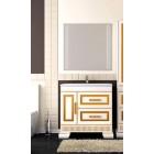 Комплект мебели для ванной комнаты ОНИКС 80 (золото) Opadiris