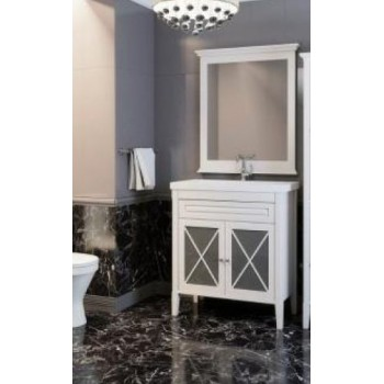 Комплект мебели для ванной комнаты Палермо 90 (белый) Opadiris