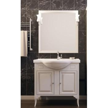 Комплект мебели для ванной комнаты Глория 85 Opadiris (слоновая кость)