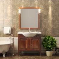 Комплект мебели для ванной комнаты Глория 85 Opadiris (светлый орех)