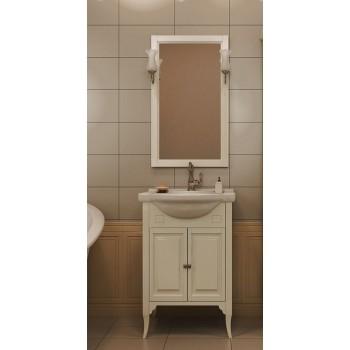 Комплект мебели для ванной комнаты Глория 55 Opadiris (слоновая кость)