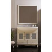 Комплект мебели для ванной комнаты ОМЕГА 90 (слоновая кость) Opadiris