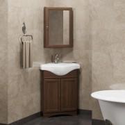 Комплект мебели для ванной комнаты Клио 45 угловой правый/левый Opadiris (нагал)