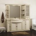 Комплект мебели для ванной комнаты КОРСО ОРО № 7 (слоновая кость) Opadiris