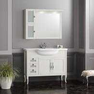 Комплект мебели для ванной комнаты МИРАЖ 100 (слоновая кость) Opadiris