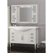 Комплект мебели для ванной комнаты МИРАЖ 120 (слоновая кость) Opadiris