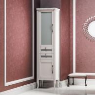 Пенал для ванной комнаты МИРАЖ 45 Opadiris (лев./прав.) слоновая кость