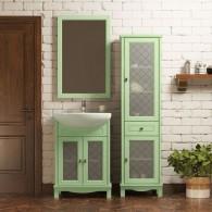 Комплект мебели для ванной комнаты ОМЕГА 55 (фисташковый) Opadiris
