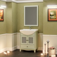 Комплект мебели для ванной комнаты ОМЕГА 65 (фисташковый) Opadiris