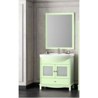 Комплект мебели для ванной комнаты ОМЕГА 75 (фисташковый) Opadiris