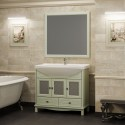 Комплект мебели для ванной комнаты ОМЕГА 90 (фисташковый) Opadiris