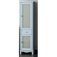 Пенал для ванной комнаты ОМЕГА 45 голубой  L/R Opadiris