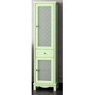 Пенал для ванной комнаты ОМЕГА 45 фисташковый L/R Opadiris