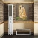 Пенал для ванной комнаты РИСПЕКТО 30 (белый матовый) Opadiris