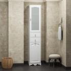 Пенал для ванной комнаты РИСПЕКТО 40 (белый матовый) Opadiris
