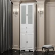 Пенал для ванной комнаты РИСПЕКТО 60 (белый матовый) Opadiris